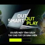 NVIDIA khuyến mại laptop cho sinh viên Việt Nam mùa tựu trường