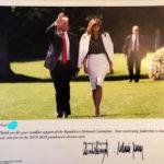 Chữ ký chông tre của ông bà chủ Nhà Trắng