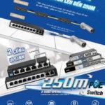 D-Link giới thiệu nhóm thiết bị chuyển mạch 250m PoE Switch cấp nguồn qua PoE lên đến 250m