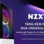 NZXT khuyến mại Underglow RGB LED mới cho thùng gaming PC H series