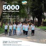 """""""5.000 bước chân hạnh phúc"""" – Ngày hội đi bộ vì bệnh nhân ung thư Việt Nam"""