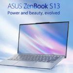 ASUS ZenBook S13 (UX392) – ultrabook có viền màn hình mỏng nhất với tỉ lệ hiển thị lớn nhất thế giới