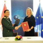 Việt Nam là nước thứ 2 ở Châu Á ký hiệp định FPA hợp tác quốc phòng với Liên minh Châu Âu EU