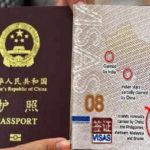 Philippines khôi phục việc dán visa lên passport Trung Quốc