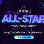 """30 """"ngôi sao"""" đại diện Việt Nam tham dự vòng loại khu vực cuộc thi Ngôi sao TikTok Đông Nam Á 2019"""