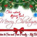 Merry Christmas – Chúc mừng Giáng Sinh