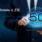 Qualcomm và ZTE thực hiện cuộc gọi 5G Voice Over NR