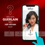 Leflair ứng dụng công nghệ tương tác thực AR cho phép khách hàng thử sản phẩm online ngay trên điện thoại