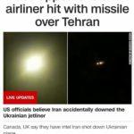 Nghi vấn máy bay Ukraine trúng tên lửa Iran