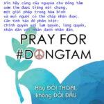 Cầu nguyện cho Đồng Tâm