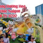 VIDEO: Lang thang Đường Hoa Nguyễn Huệ Saigon Tết Canh Tý 2020