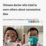 R.I.P: Định mệnh của Li Wenliang – vị bác sĩ hy sinh vì Wuhan coronavirus sáng 7-2-2020