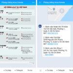 Chatbot về dịch nCoV trên Zalo giúp kiểm tra khu vực lây nhiễm theo địa phương
