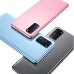 Thấp thoáng Samsung Galaxy S20 series với camera 108MP