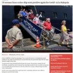 Nữ hành khách Mỹ trên du thuyền MS Westerdam test lần 2 vẫn dính virus nCoV