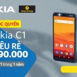Nokia C1 được bán độc quyền tại Thế Giới Di Động