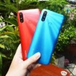 Khui hộp smartphone Realme C3 triple camera