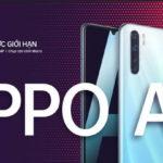 OPPO A91 với sạc nhanh VOOC 3.0 bán ở Việt Nam