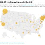 Dịch novel coronavirus lan gần khắp Hoa Kỳ