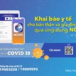 Khai báo y tế toàn dân qua ứng dụng NCOVI chính thức