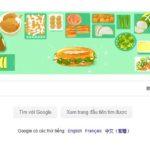 Google giới thiệu Doodle Bánh mì Việt Nam tại hơn 10 quốc gia