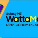 """Samsung ra mắt smartphone """"siêu pin mãnh thú"""" Galaxy M21 với pin 6.000mAh tại Việt Nam"""