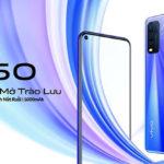 Smartphone vivo Y50 với pin 5.000mAh ra mắt thị trường Việt Nam