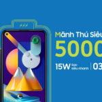 Samsung Vina bán smartphone Galaxy M11 trên sàn online Tiki