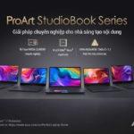 Dòng laptop chuyên nghiệp ASUS ProArt StudioBook cho nhà sáng tạo nội dung