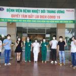 Việt Nam có 316 trong tổng số 331 bệnh nhân COVID-19 đã khỏi bệnh