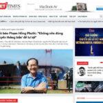 """Trách nhiệm phát ngôn trên MXH – Nhà báo Phạm Hồng Phước: """"Không nên dùng 'truyền thông bẩn' để tư lợi"""""""
