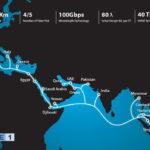 Tuyến cáp biển AAE-1 lại bị sự cố