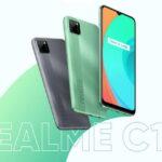 Trên tay smartphone Realme C11