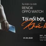 Do dịch COVID-19, OPPO Việt Nam chuyển sự kiện ra mắt dòng smartphone Reno4 series tại Phú Mỹ Hưng thành online