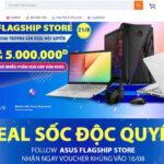 ASUS Việt Nam mở gian hàng chính hãng ASUS Flagship Store x LazMall trên Lazada