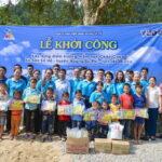 Công ty HTC Viễn thông Quốc tế kêu gọi được khoản tài trợ xây điểm trường vùng núi ở Hà Giang