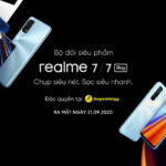 Bộ đôi smartphone realme 7 và realme 7 Pro bắt đầu được đặt hàng trước tại thị trường Việt Nam