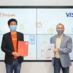 Visa và Shopee hợp tác chiến lược kinh tế số và phát hành thẻ Visa Shopee