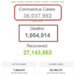 Số bệnh nhân COVID-19 trên thế giới đã vượt 36 triệu người