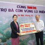 Huawei Việt Nam chung tay ủng hộ người dân miền Trung 1 tỷ đồng khắc phục thiên tai