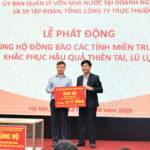 Tập thể VNPT ủng hộ 10 tỷ đồng giúp 5 tỉnh miền Trung khắc phục hậu quả mưa lũ