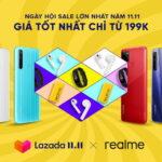 Realme tham gia ngày hội siêu sale 11.11 ở Việt Nam