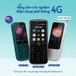 3 mẫu điện thoại phổ thông Nokia mới có 4G với giá từ 749.000 đồng
