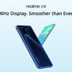 Smartphone realme C17 với màn hình đục lỗ 90Hz