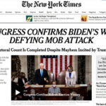 Quốc hội Hoa Kỳ đã công nhận ông Joe Biden là Tổng thống đắc cử