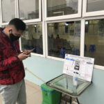 Tiết kiệm thời gian tại bệnh viện trong những ngày rét đậm nhờ quét mã Zalo QR