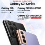 FPT Shop bán độc quyền Samsung Galaxy S21 Ultra 5G 256GB
