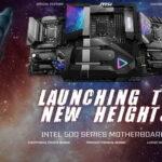 MSI ra mắt các dòng bo mạch chủ Intel 500 series cho CPU Intel Core Gen 11