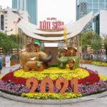 Đường Hoa Nguyễn Huệ Tết COVID 2021 qua ống kính nhiếp ảnh gia Minh Hòa