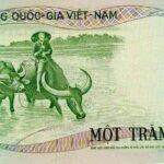 """Tờ giấy bạc 100 đồng """"con trâu"""""""